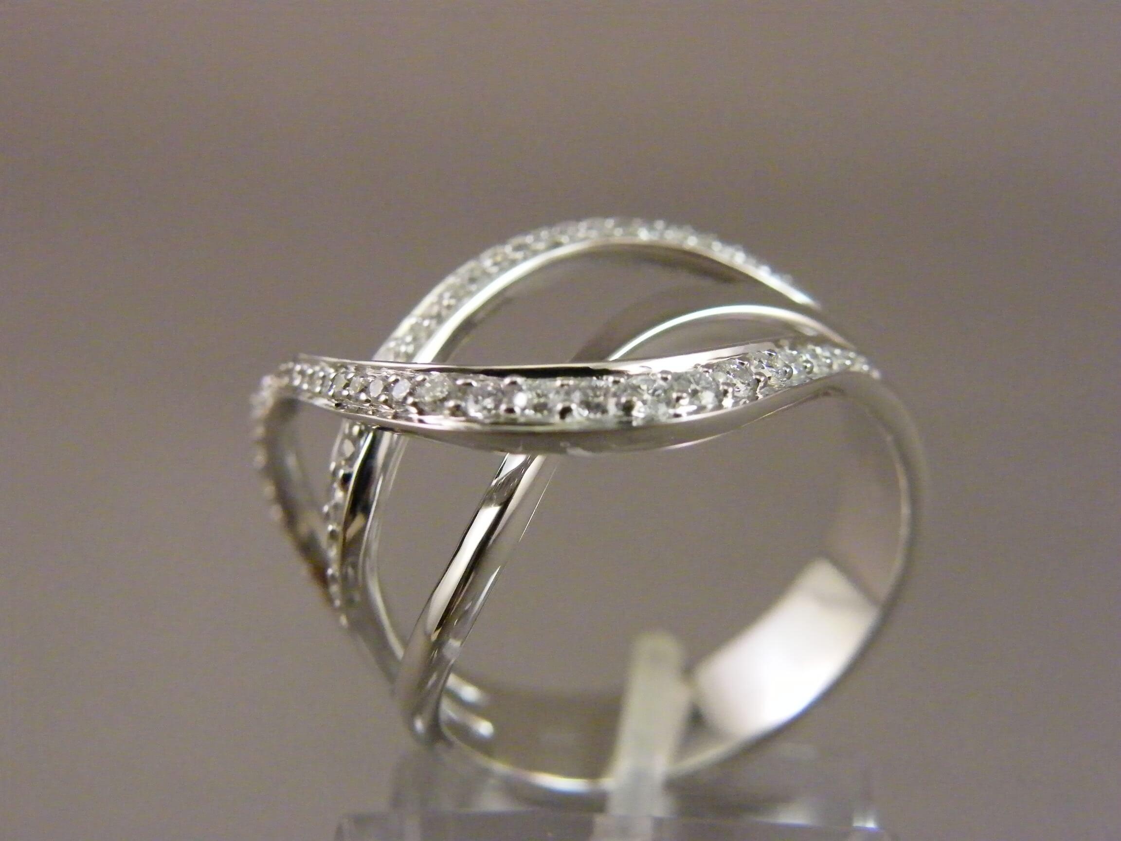 witgouden ring